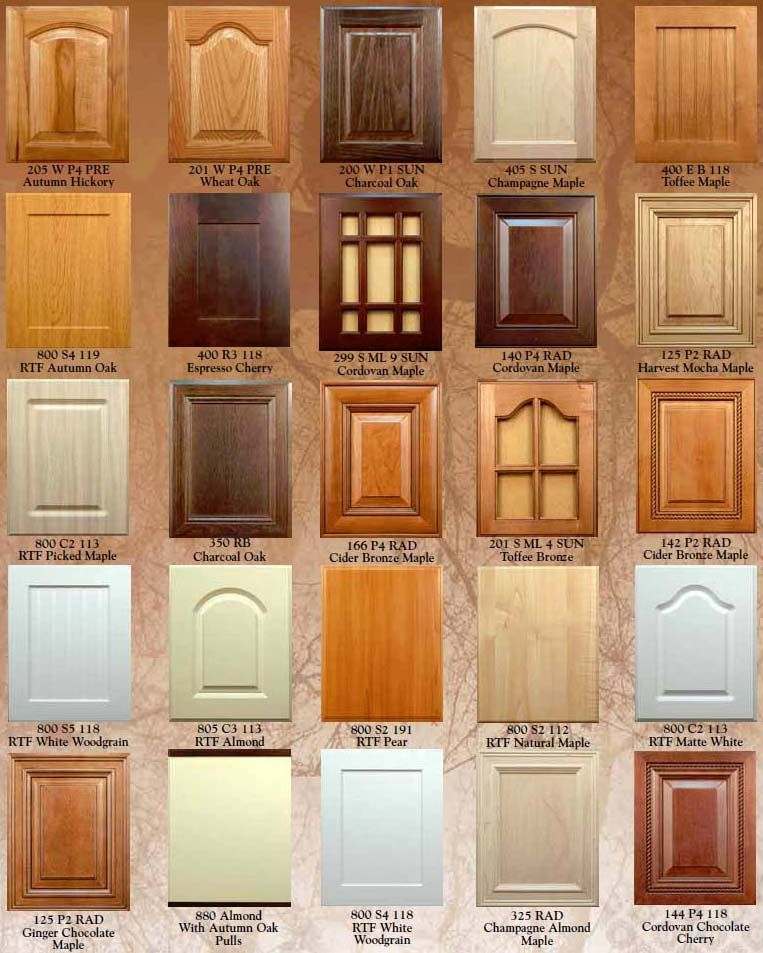 Kitchen Cabinet Door Fronts By Wood Mode #kbis #kitchens