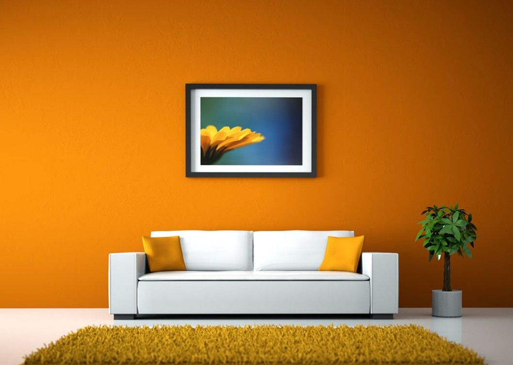 The Underused Interior Design Color - How To Use Orange Indoors