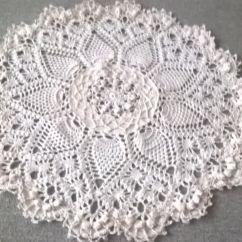 Pineapple Crochet Doily Diagram Trane Heat Pump Wiring Splendid Van Patricia Kristofferson
