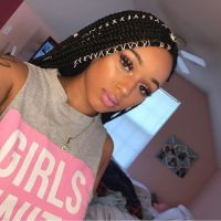 18 different ways to accessorize your box braids   Hair ...