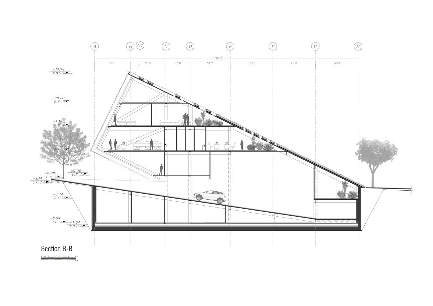 Best 25 Building Section Ideas