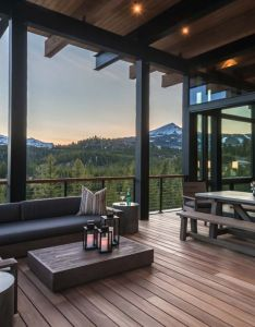 Mountain modern home reid smith architects kindesign also modelos rh pinterest