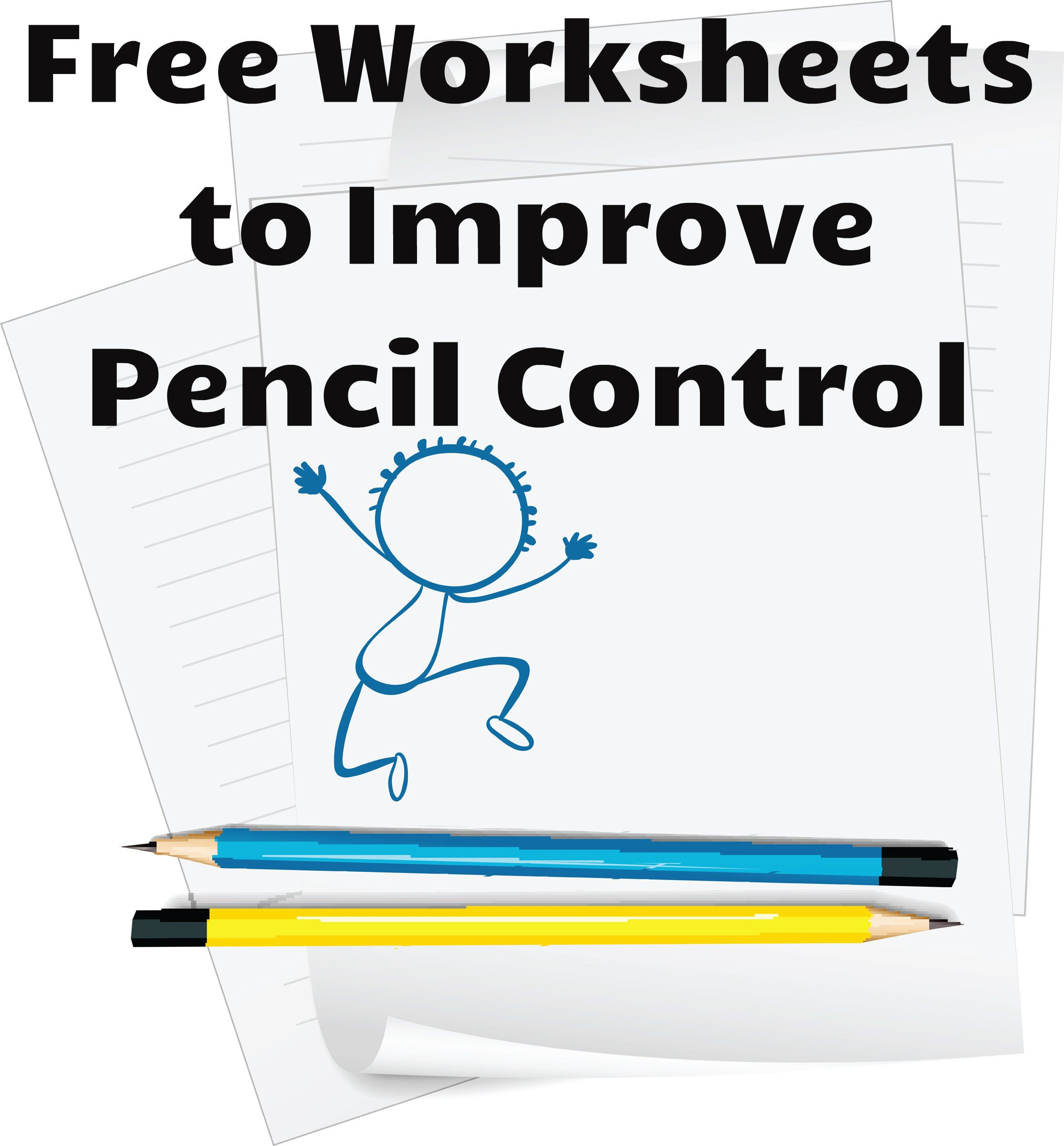 Free Worksheets To Develop Pencil Control And Strengthen