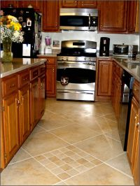 kitchen flooring ideas | love this...: Floored | Flooring ...