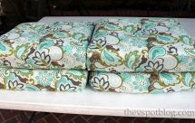 Sew Project Recover Outdoor Cushions