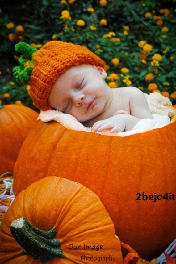 Girl Dad Hat Wallpaper Newborn Infant Baby Boy Or Girl Pumpkin Hat Crochet