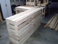 Pallet desk counter or reception desk | Dance studio ...