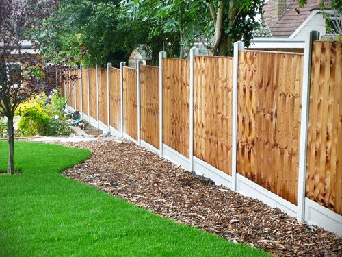 Yard Fence Ideas Purpose Behind Fencing As A Reflection On Front