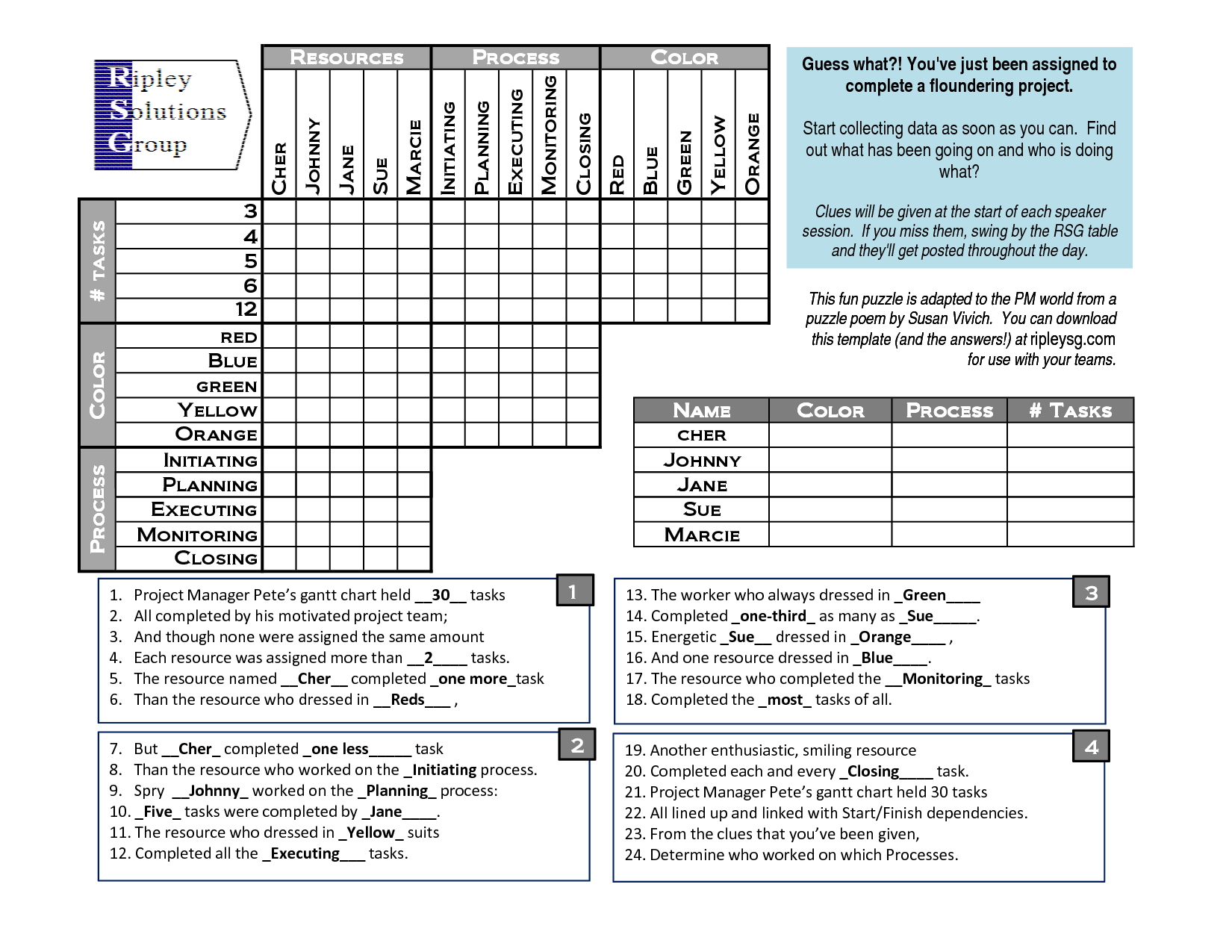 Printable Puzzles For Adults Logic Puzzle Template