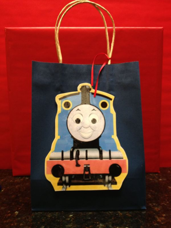 Thomas Train Party Favor Bag Ideas Favors Bags And