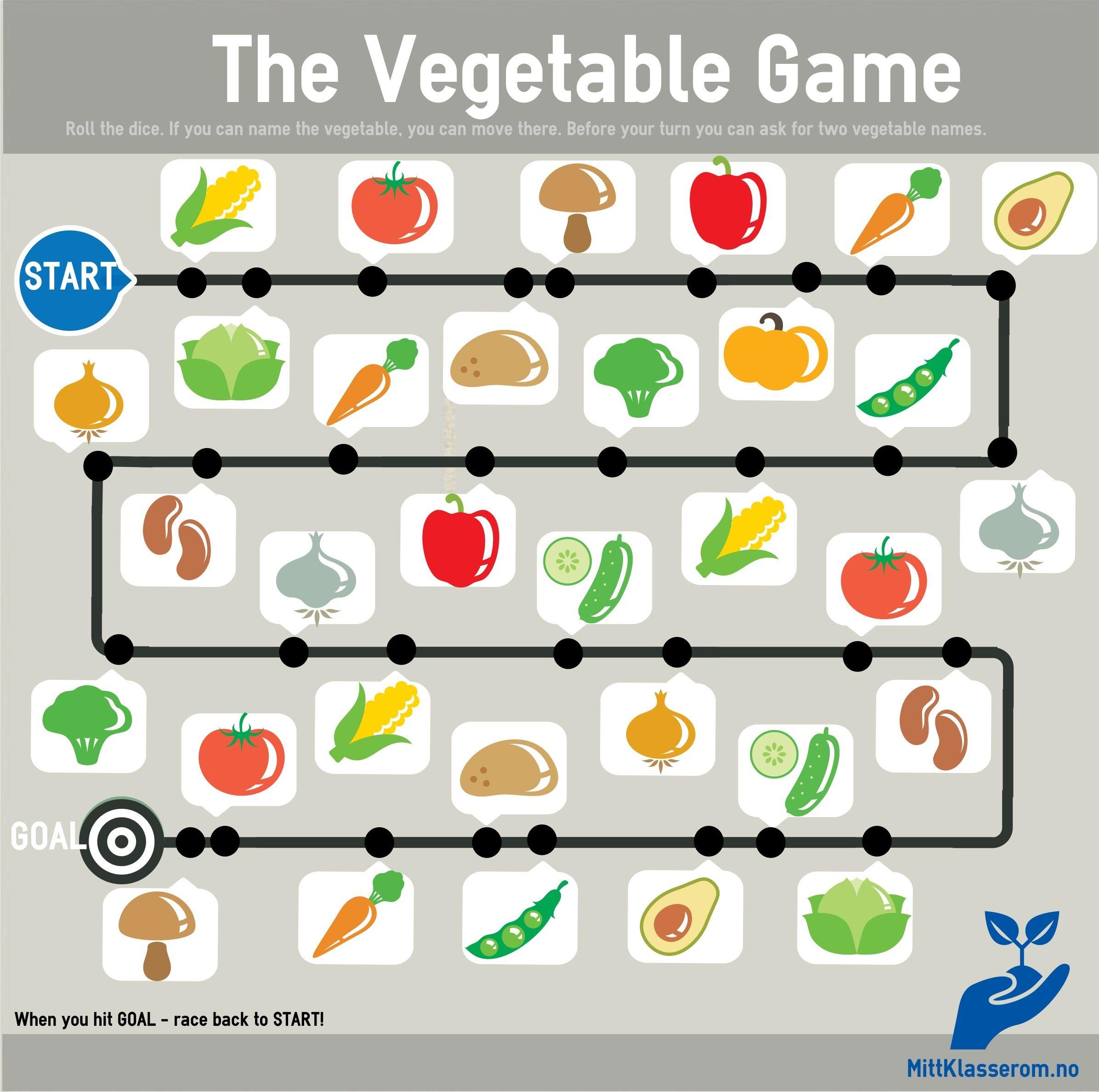 The Vegetable Game Trykk P Bildet For Full Versjon Klar