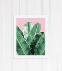 Banana leaf wall art, banana leaf, palm Leaf, banana leaf ...