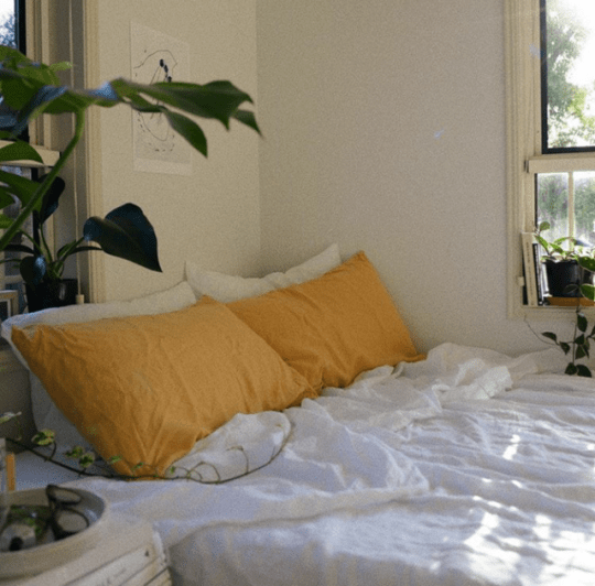 Yellow also serenityinspace        pinterest bedrooms room rh in