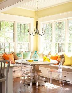 Room also incredibly cozy and inspiring window seat ideas kitchen rh pinterest