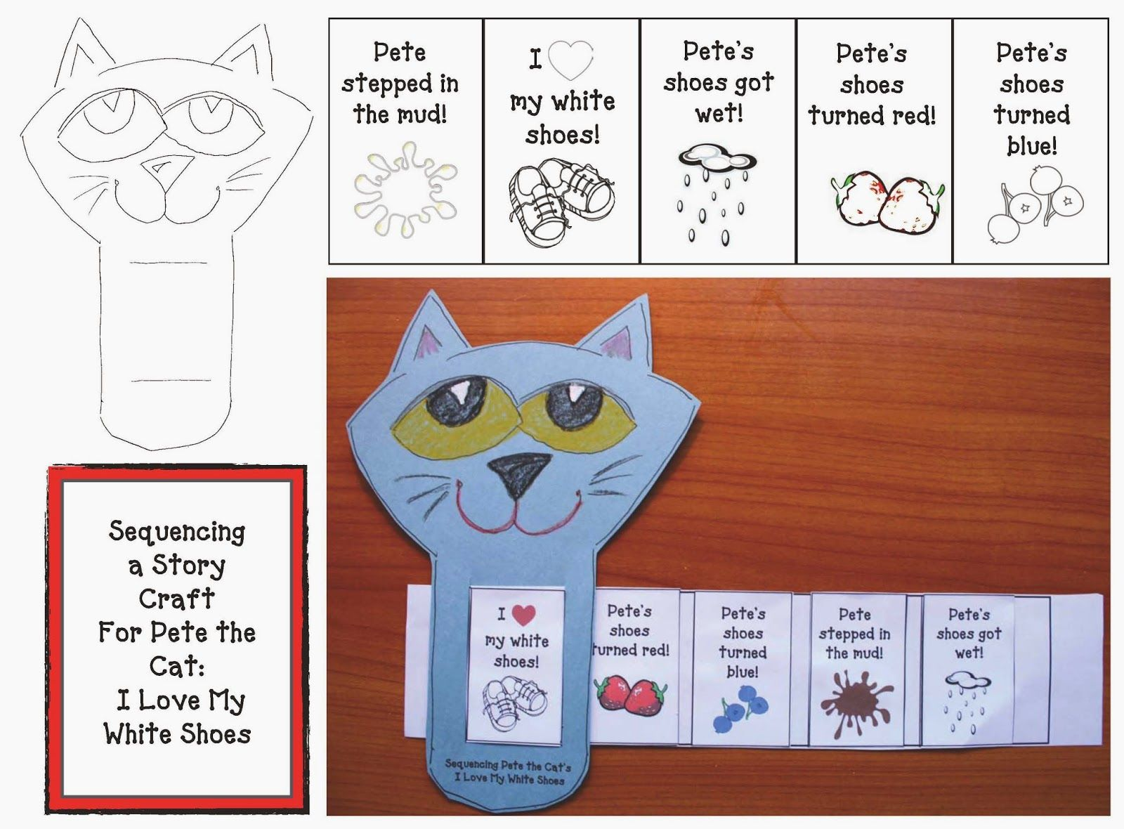 Pete The Cat Story Slider