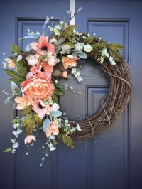 Door Reefs & Spring Wreaths | Door Wreath Elegance ...