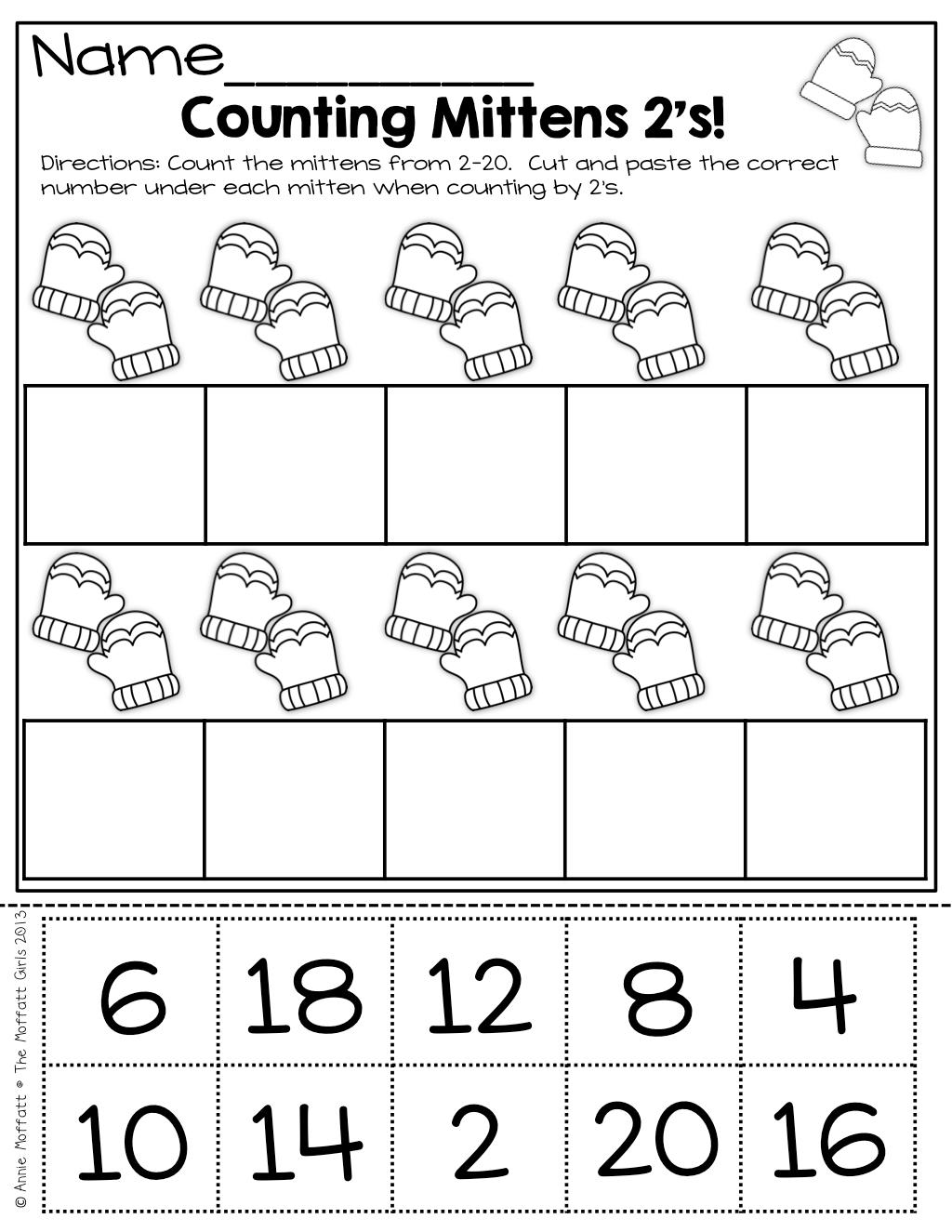 The Mailbox Math Worksheet