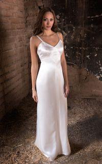 Slip dress by Martin McCrea | Double silk charmeuse slip ...
