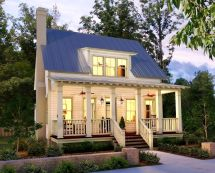 Small Country House And Floor Plans Design