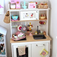 Kids Play Kitchen Accessories Moen Pull Down Faucet Esra 39s Ikea Duktig Hack Kidsworld