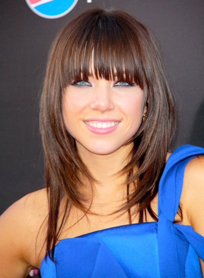 Medium Length Haircuts For 2015 Fringes Hair With Bangs And