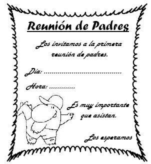 MODELO DE REUNIÓN DE PADRES DE FAMILIA Objetivos