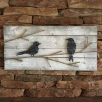 RUSTIC GALLERY WALL, Farmhouse Decor, Bird Wall Art ...
