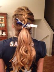 cute hairstyles volleyball