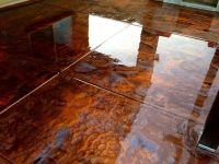 flooring epoxy. -- metallic copper floor | ... pearl quick ...