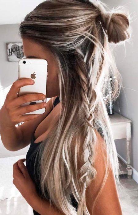 Leichte Frisuren Für Lange Haare 2017 Haare Pinterest