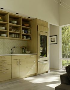 Gallery fish creek guest house by carney logan burke small bliss kitchen and dining area also  modern home rh pinterest