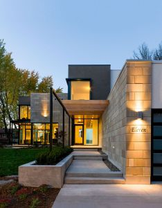 Ottawa river house by christopher simmonds architect this one is pretty cool  love all the design and decoration office de casas also rh pinterest