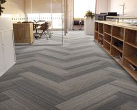 herringbone carpet tile  Floor Matttroy