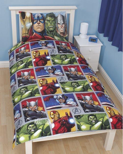 Marvel Avengers Team bedding sets for boys  Kid Bedroom
