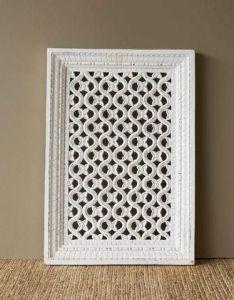 Flower white jali screen also furniture pinterest cabinet rh