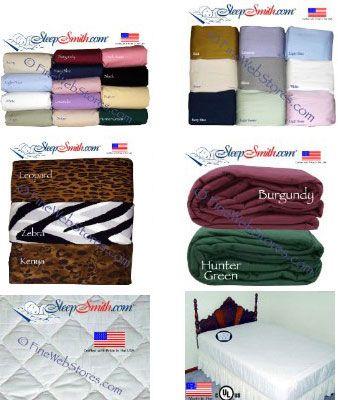 Three Quarter Size Bed Sheetattress Pads