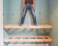 DIY Floating Wood Shelves! (Yellow Brick Home)   Wood ...