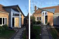 contemporary front porch extension design uk - Google ...