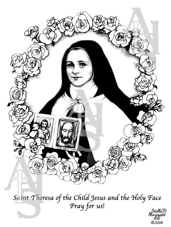 Saint Theresa of the Child Jesus and the Holy Face