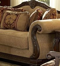 traditional chairs for living room | ... Traditional Wood ...
