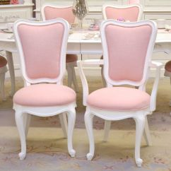 Pink Dining Room Chairs Teal Side Chair Elegant Tall Back In Linen Set Of 6