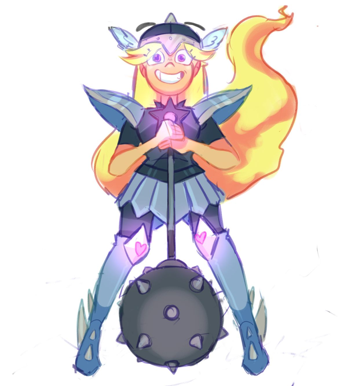 And Svtfoe Toffee Moon Funny
