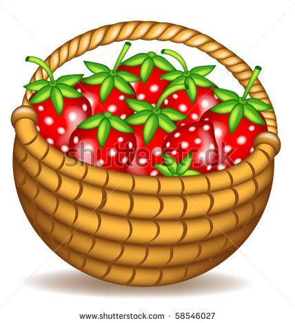free clip art outline strawberry