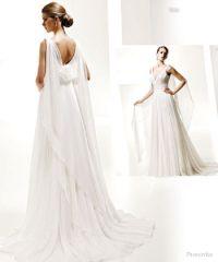 greek goddess wedding dress | 1950 wedding | Pinterest ...