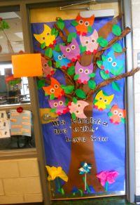 """""""we OWL love you"""" door decoration for teacher appreciation ..."""