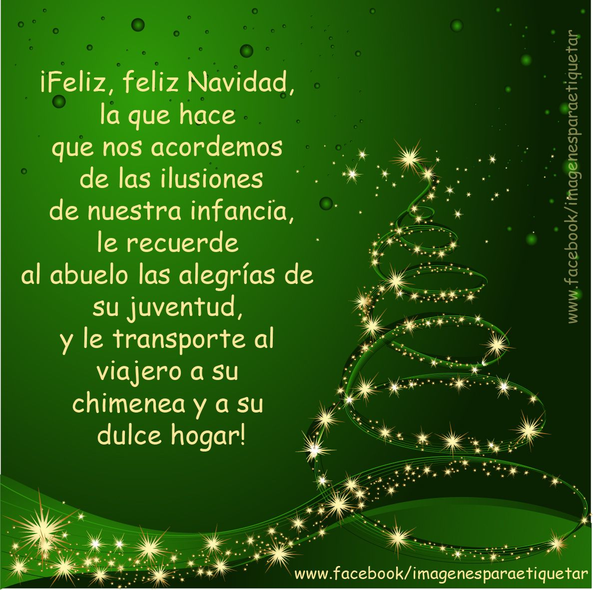 Arbol De Navidad De Palabras