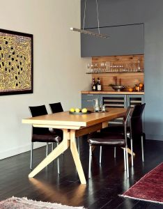 Manhattan home by tamara  design also interiors and dining rh pinterest