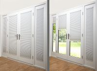 Alluring French Door Blinds | Curtain | Pinterest | French ...