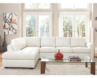 White Leather Sectionals on Pinterest | Leather Sectional ...