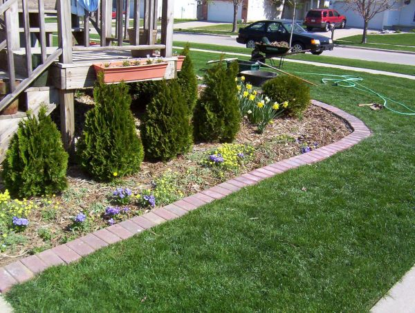 Landscape Flower Bed Edging Ideas